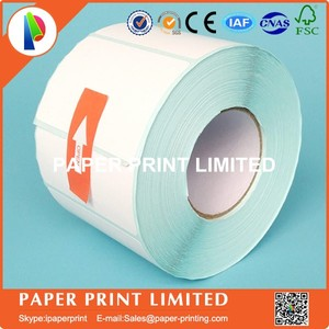 Image 3 - 50 rolls 50 * 30 * 800 Thermal stickers label printing paper supermarket electronic bar code paper