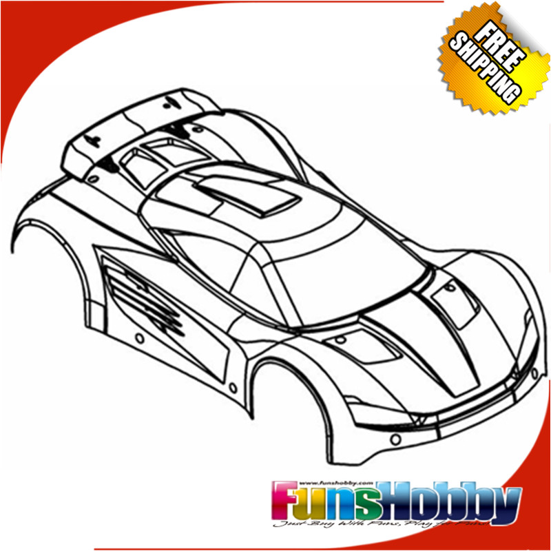 MCD Racing Xs5 Body Shell.COD.500901P