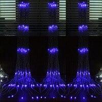 Mejor Al aire libre árbol de Navidad decoración boda suministros impermeable lámpara de la Decoración led linterna