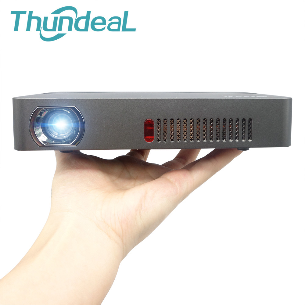 ThundeaL DLP Projector RD601 Built-in Battery Andorid4.4 WIFI LED MiniShutter 3D Beamer Miracast Bluetooth Home Cinema Airplay built in battery 200 inch mini android 4 4 smart wifi bluray 3d hd led dlp miracast projector data show proyector beamer youtube