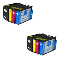 8pcs Compatible For HP932 933 Ink Cartridges 932XL 933XL OfficeJet 6100 6600 6700 7110 7610 7612