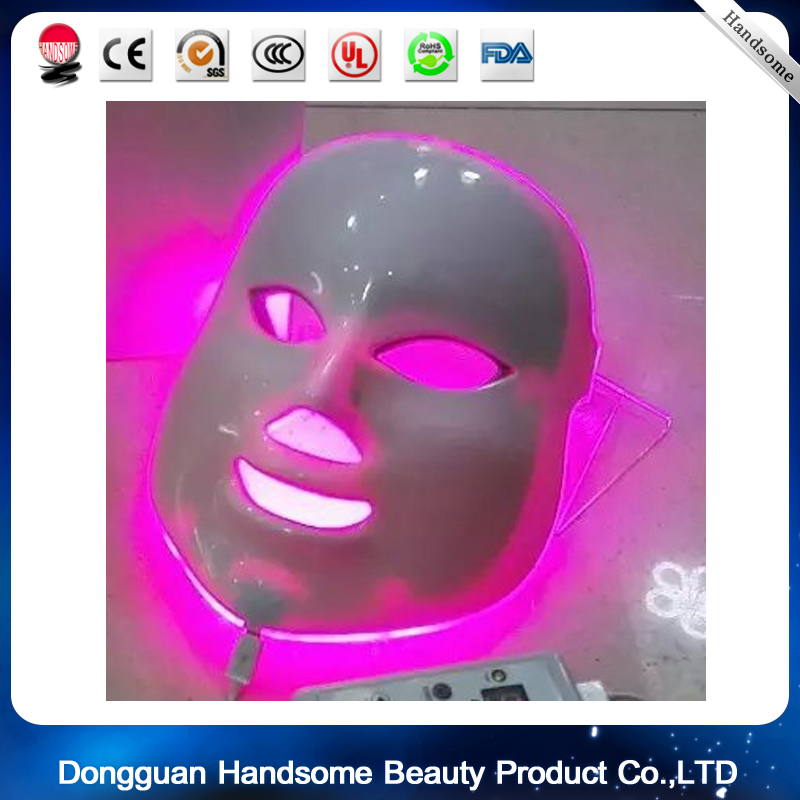 7 Colors Light Photon LED IPL PDT Facial Mask Skin Rejuvenation Beauty Therapy Wrinkles 7 colors light photon electric led facial mask skin pdt skin rejuvenation anti acne wrinkle removal therapy beauty salon