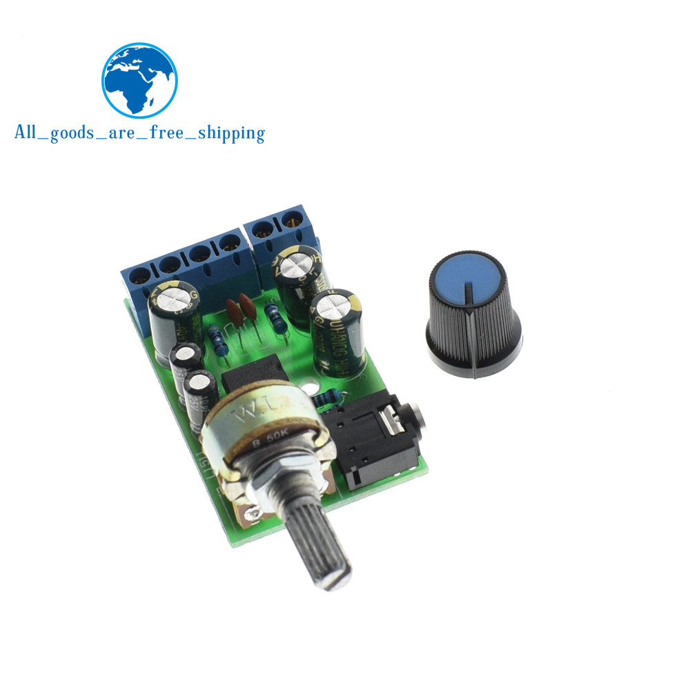 Tzt Mini Dc 3712v 5v Tda2822m 20 Ch Stereo Audio Power Amplifier Tda2822 Circuit Electronic Circuits And Diagram 3 4