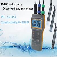 AZ86031 Portable Dissolved Oxygen Conductivity Salinity PH or acidity test Dissolved oxygen device