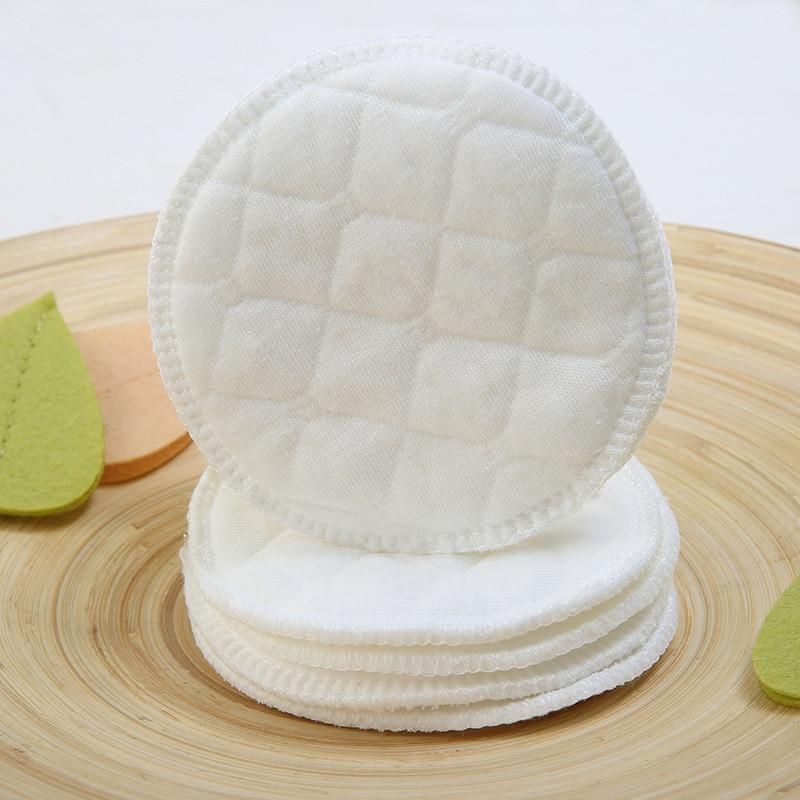 5 piezas de algodón lavable reutilizable removedor de maquillaje almohadilla para el pecho limpiador de piel señoras cuidado de la belleza mujeres belleza maquillaje la atención de la salud