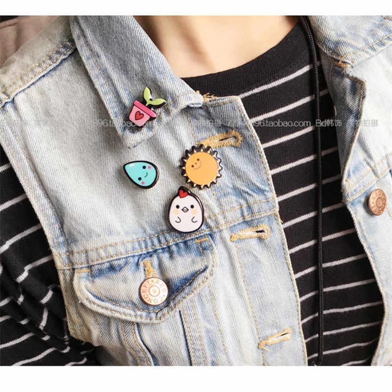 2017 New Acrilico Spille Pins monili di Figura Simpson Del Fumetto Cute Fashion Broche Pin