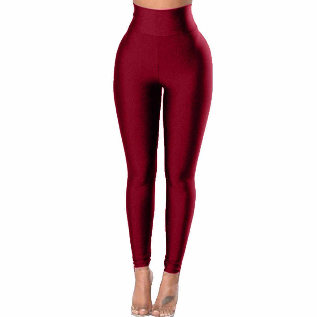 KULOKME Leggings Fitness Donna Allenamento Opaco Vita Alta Yoga Palestra Sportivi Pantaloni Corsa Fitness Palestra Tasche