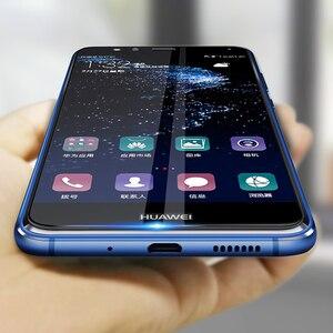 Image 1 - 2 個保護ガラス Huawei 社 p10 lite プラス強化 Glas 1080p 10 p10lite Huavei Hauwei Huawie スクリーンプロテクターオリジナルフィルム