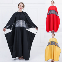 XL SizeTranparent PVC Hair Cape Waterproof Hairdressing Cape For Barber Haircut New Design Hairdresser WrapV-779 Can Play Phone