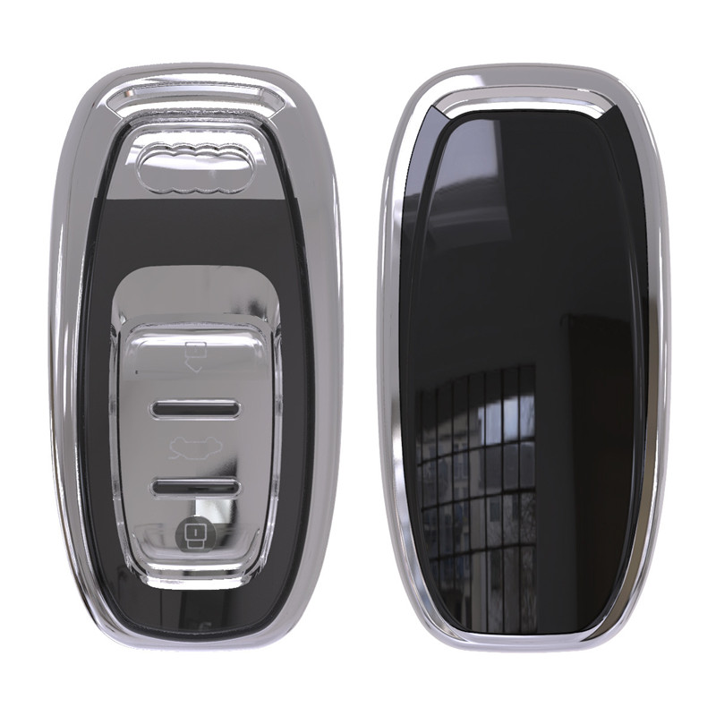 2018 Soft TPU Key Rings Protection Cover For Audi A4 A4L