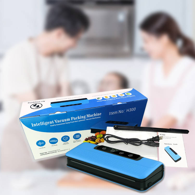 Kitchen Appliances Sous Vide Chamber Vacuum Sealer Portable Hand Press Heat Sealer Vacuum Sealing Machine