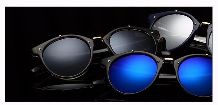 Fashion Vintage Round Sunglasses Women Men Brand Designer Retro Mirror Sunglass Ladies Female Male Sun Glasses For Women Glasses (10)