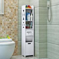 Bathroom side ark waterproof toilet side ark toilet receives the rack