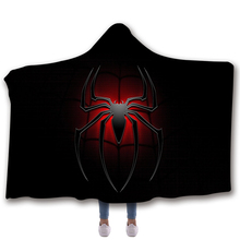 YINUODAIL Spiderman Sleeveless Hoodies Unisex Winter Hoodie Casual Coat Movie Superhero Hooded Marvel Venom Cosplay Costume