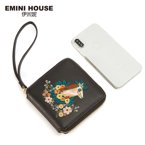 Image 4 - EMINI HOUSE Embroidery Wallet Women 2018 Purse Female Women Wallets Luxury Brand Wallets Designer Purse Wallet For Credit Cards