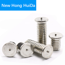 Weld Stud Bolt Thread Metric Flat Head Ponit Welding Screw 304 Stainless Steel M8