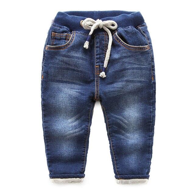Детские брюки и джинсы 2016 бархат мужской мальчик утолщенной New Kids Детские зимние брюки