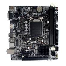 Intel H61 Socket LGA 1155 placa base Micro-ATX16GB 2 DDR3 1600 1333 DIMM memoria PCI-E 3,0 Xeon CPU Core i3 i5 i7 LGA1155(China)
