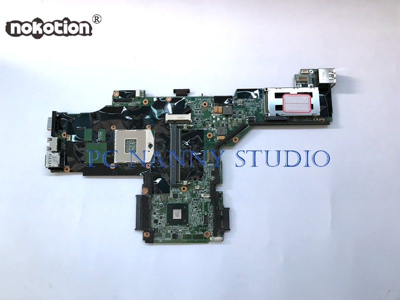 NOKOTION for Lenovo ThinkPad T420 Motherboard Laptop mainboard 04Y1932 QM67 works