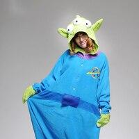 Toy Story Aliens Onesies xl Pajamas Adult Anime Cosplay Costume Sleepsuit Man Woman Couple Pajamas