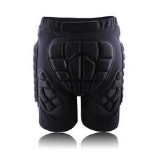 Envío gratuito XS-3XL deportes al aire libre de Esquí Skate Snowboard protección Protector de esquí de patinaje Protector acolchado cadera pantalones cortos