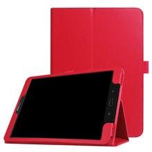 Для Samsung Galaxy Tab S3 9,7 T820 T825 Чехол-книжка из искусственной кожи чехол Tab S3 9,7 T820 подставка карандаш держатель подходит для планшета