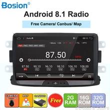 Android 8.1 autoradio 1 din Per Duster/Dacia/Sandero/Logan/Captur/Lada/Xray auto multimedia player macchina fotografica a cassetta registratore a nastro