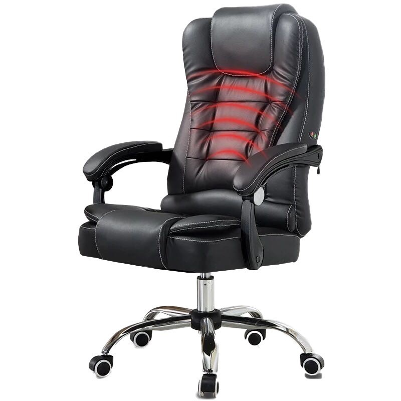 Household High Quality Office Gaming Computer Chair Noon Break Artificial Leather Chair Massage Comfortable Gamer Silla