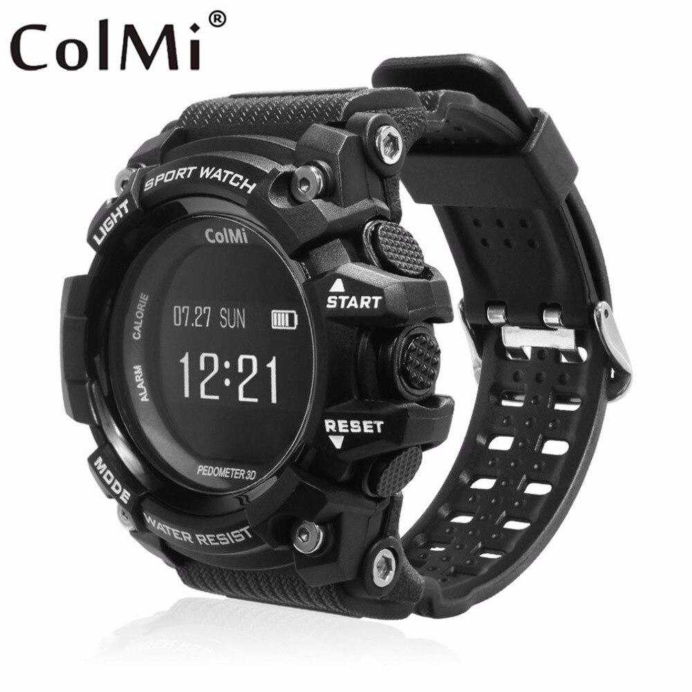 Colmi reloj deportivo inteligente OLED tasa Monitores impermeable mensaje recordatorio de llamada para Android para iOS teléfono