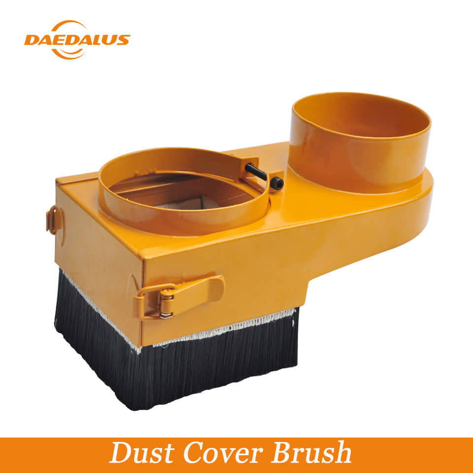 Daedalus CNC Spindle Dust Cover Brush 65/80/100 mm High Quality Dust Collector Easy Cleaning for Milling Machine Router Tools