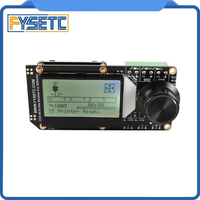 AIO השני V3.2 Mainboard כל באחד השני 32 קצת MCU 32bit ST820 נהג 256 Microsteps בקר לוח תמיכה מרלין עבור 3DP/CNC