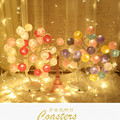 Ins Горячая цветная светодиодная лампа в виде дерева  ночник для девочки  для спальни  USB зарядка  подарок на день рождения  подарок на Новый го...