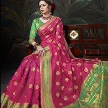 Bollywood Women India Saree Kaftan Sari Dress Traditional In