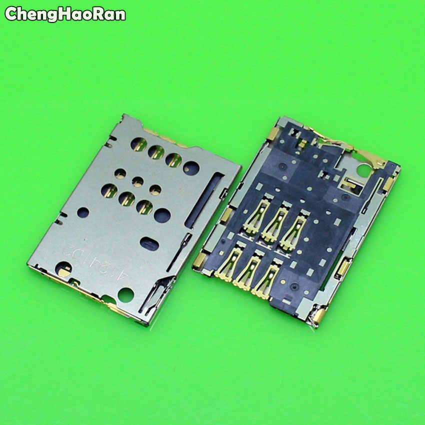 ChengHaoRan 2 pcs Para Nokia N8 C7 C7-00 T7 C2-03 2060 C2-06 SIM Card Reader Titular Slot Soquete Substituição Porta reparação Parte