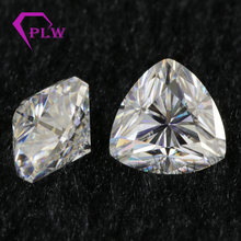 Trillion moissanite 2 ct 8 mm D color lab grown gems look like real diamond for bracelet ring earring from Provence jewelry(China)