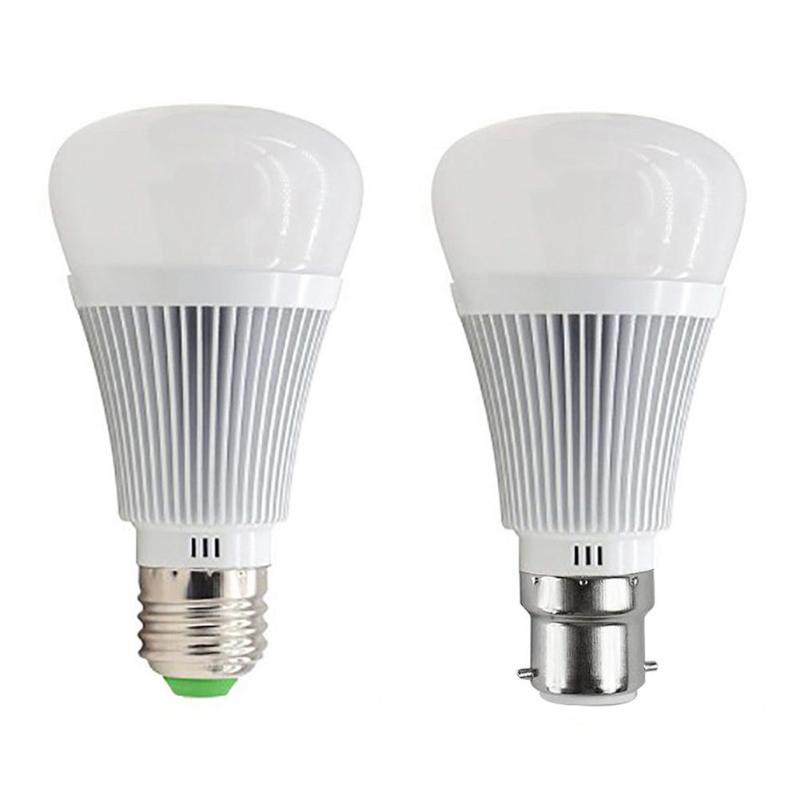 7W Smart Home Wireless WIFI E27 LED Bulb AC85-265V Smart Power WiFi APP Remote Control Colorful Lighting Smart Bulb