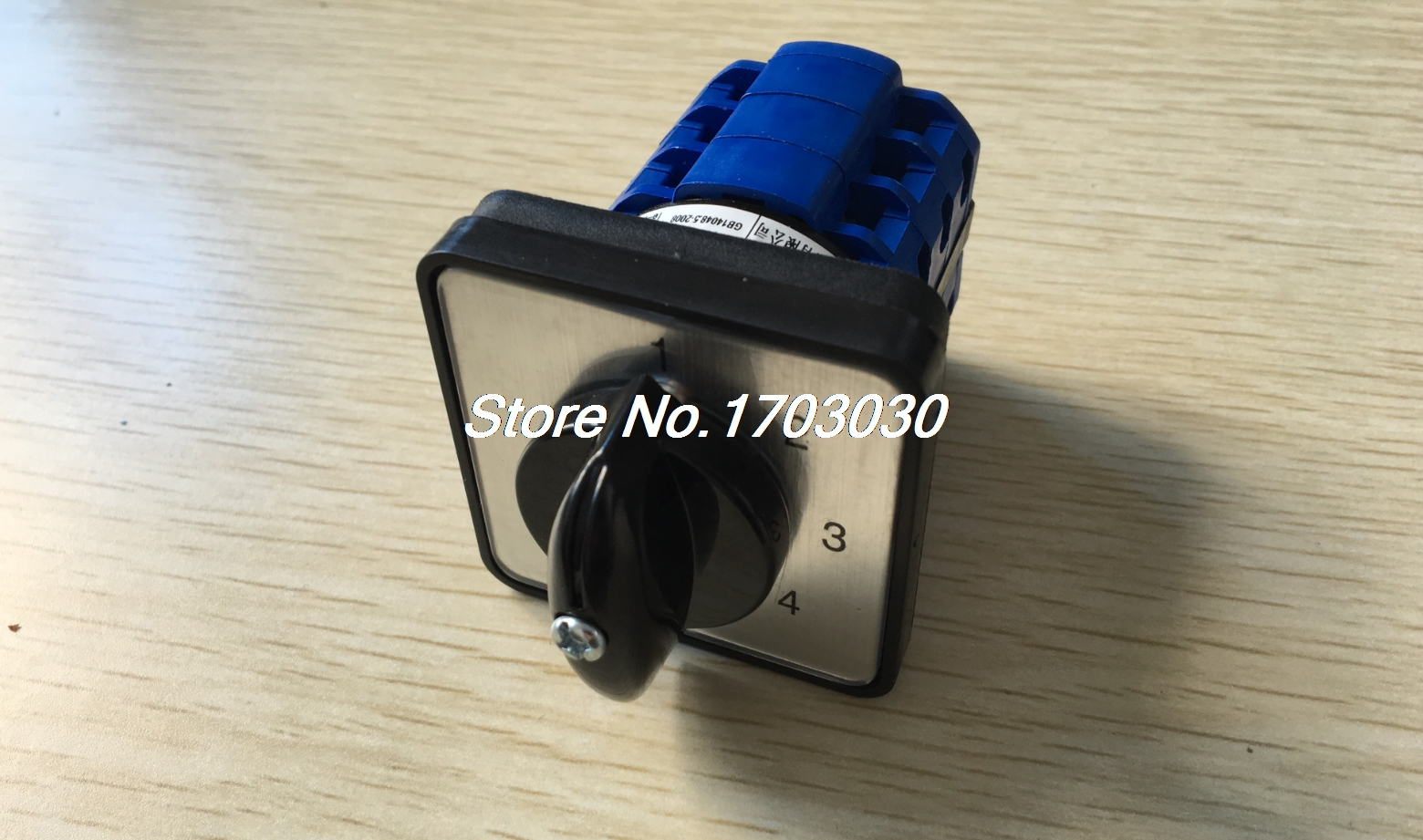 660V 16A 5 Position Panel Mounting Select Rotary Cam Changeover Switch ui 500v ith 16a 3 position changeover rotary cam switch w led indicator lamps