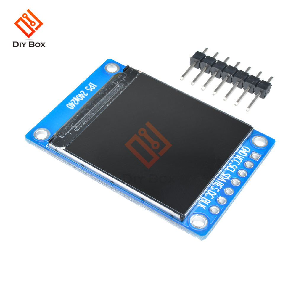 1.3 inch <font><b>240x240</b></font> Digital LCD <font><b>Display</b></font> Module 240*240 65K SPI Serial Full Color RGB TFT IPS 1.3