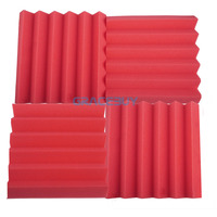 0 96X0 96X0 22ft Acoustic Soundproofing Dampening Foam 30 Pcs Recording Studio Sound Insulation Absorbing Panels