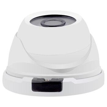 GADINAN Vandalproof Dome 48V PoE IP Network Camera H.264 720P 960P/H.265 1080P Waterproof Outdoor/Indoor IP CCTV ONVIF PoE Cable