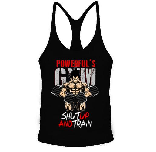 2017 Men Gym Tank Top Goku Saiyan