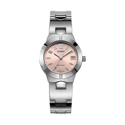 Casio watch pointer series simple calendar quartz female watch LTP-1241D-4A3