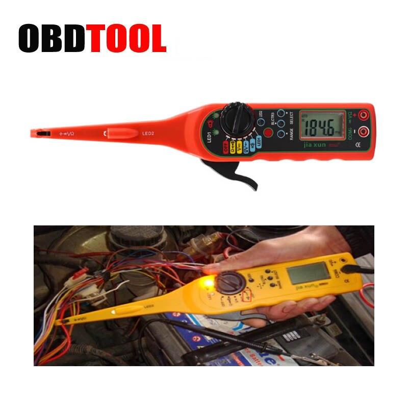 Détecteur de Circuit électrique de voiture testeur de Circuit multifonction ligne détecteur d'électricité et éclairage 3 en 1 outil de réparation automatique