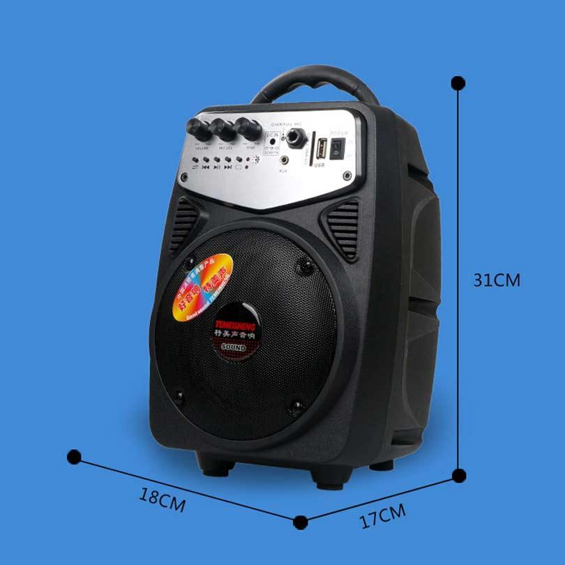 TEMEISHENG 30 W Draagbare High Power Draadloze Bluetooth Speaker - Draagbare audio en video - Foto 4