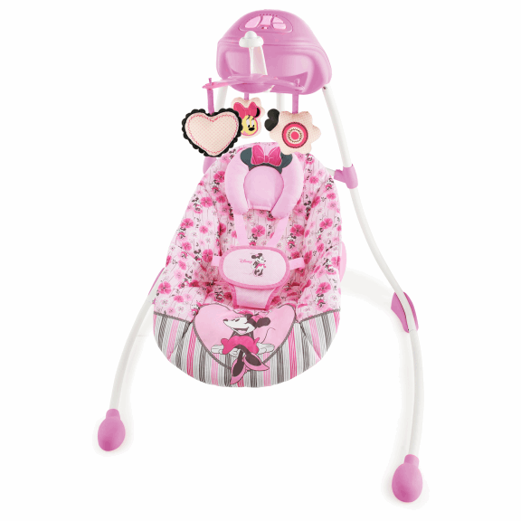 Pink Princess Baby Rocking Chair Can Swing Electric Soothe Chair Baby Crib  Cradle Swing Rocking Chair To Lie In Baby Cribs From Mother U0026 Kids On ...