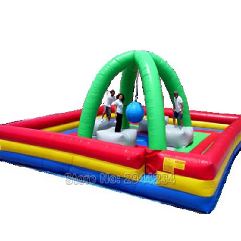 Trampoline gonflable d'équipement de terrain de jeu d'intérieur de parc d'attractions d'enfants