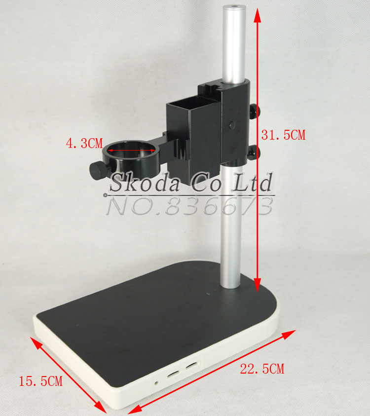 CCD Industrial Camera Holder Upper And Down Regulation Digital Industry Lab Microscope Lens Table Stand Fixed Holder