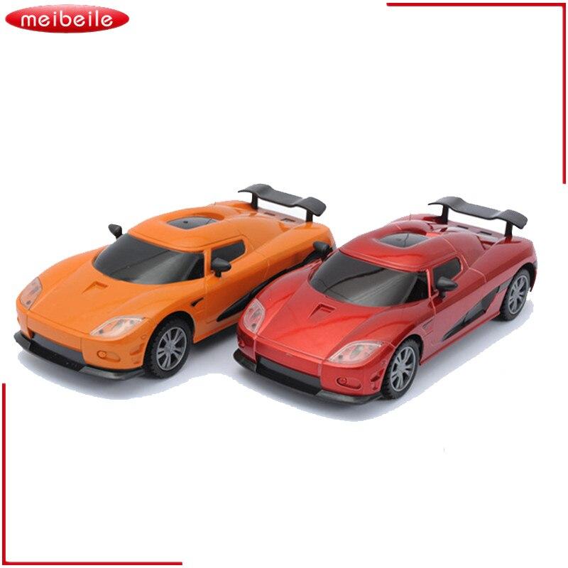 1:28 på fjärrkontrollen RC-bilar Radiostyrda elektriska racerbilar RC Car Carro-maskiner Leksaker Present till pojkar Kids Automobile