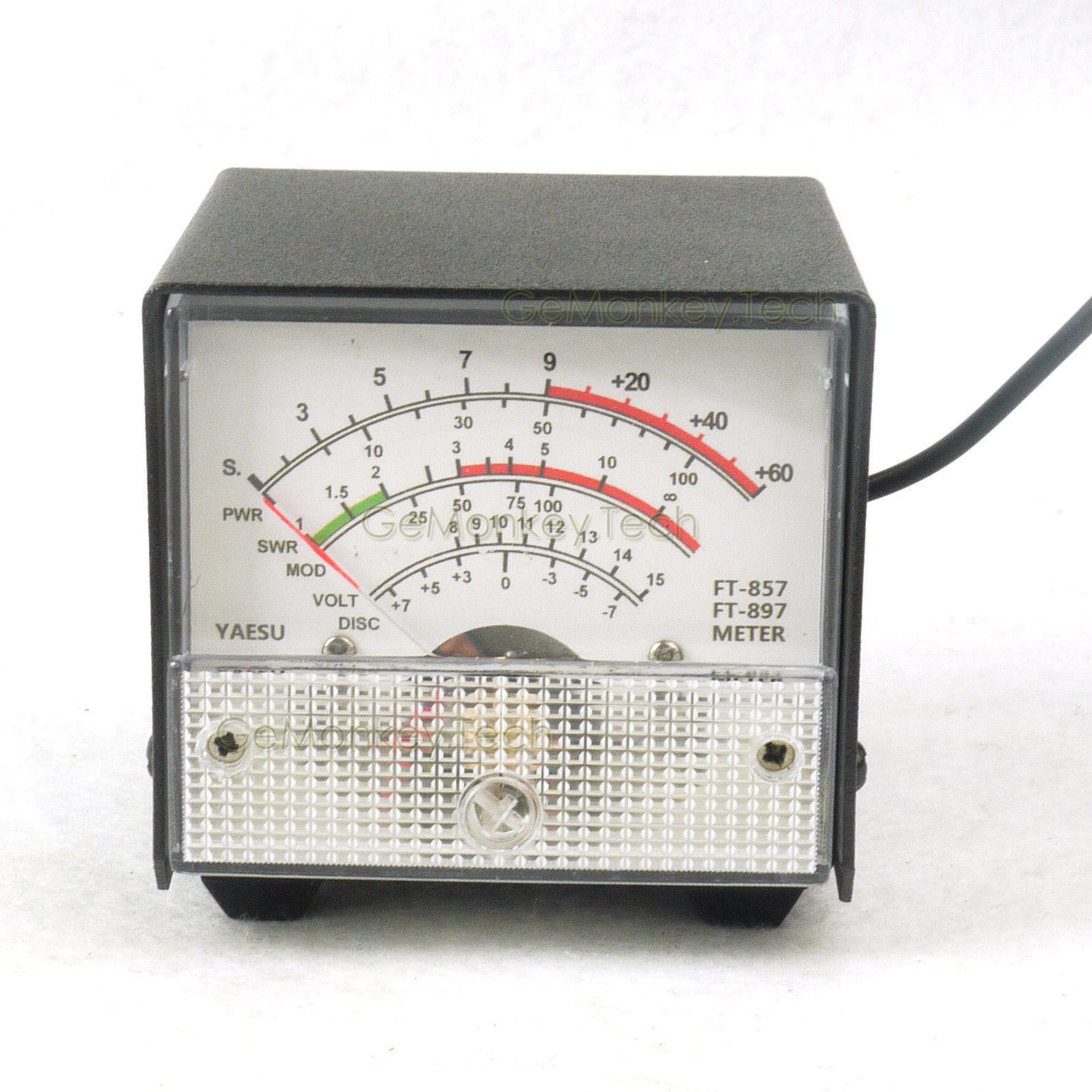 External S Meter Swr Power Meter Receive Display Meter