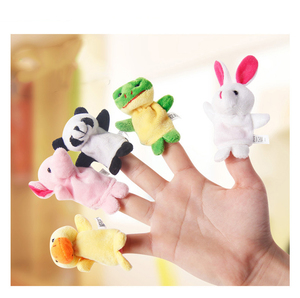 Image 3 - 10 pçs/lote desenhos animados animal veludo dedo, maçaneta, brinquedo, dedo, boneca, pano do bebê, brinquedo educacional, mão, bebê, brinquedo